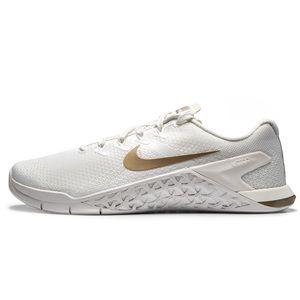 Nike Metcon 4 White/Champagne Size Women's 8
